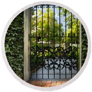 Savannah Gate II Round Beach Towel