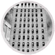 Saving Lincoln Hotel Lincoln Round Beach Towel