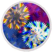 Saw Blade Round Beach Towel