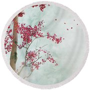 Scattered To The Four Winds Round Beach Towel