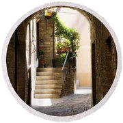Scenic Archway Round Beach Towel