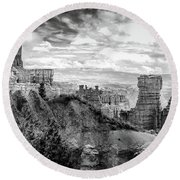 Scenic Vista, Bryce Canyon Round Beach Towel