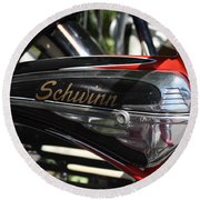 Schwinn Black Phantom Round Beach Towel