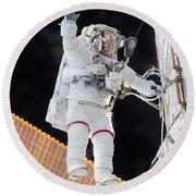 Scott Kelly, Expedition 46 Spacewalk Round Beach Towel