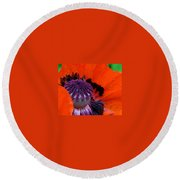 Scottie Round Beach Towel