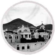 Scotty's Castle II Round Beach Towel