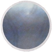 Sea Mist Round Beach Towel
