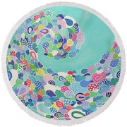 Sea Nymph Round Beach Towel
