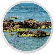 Sea Of Marmara Seaside Round Beach Towel