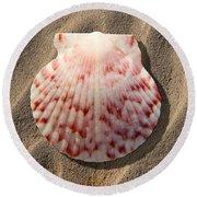 Sea Shell Round Beach Towel