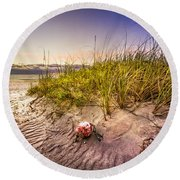 Sea Souvenir Round Beach Towel