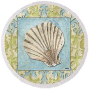 Sea Spa Bath 1 Round Beach Towel