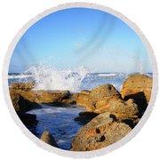 Sea Splash Round Beach Towel