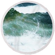 Sea Veins Round Beach Towel