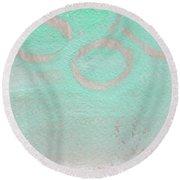 Seaglass Round Beach Towel