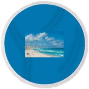 Search Vacations Online Round Beach Towel