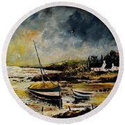 Seascape 452654 Round Beach Towel