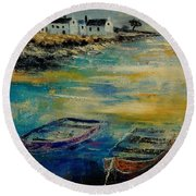 Seascape 5614569 Round Beach Towel
