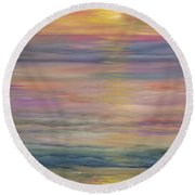 Seascape Round Beach Towel