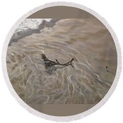 Seashore Reflections Round Beach Towel