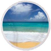 Seashore Serenity Round Beach Towel