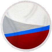 Seaworthy Round Beach Towel