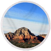 Sedona Afternoon Round Beach Towel