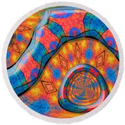 Sedona Round Beach Towel