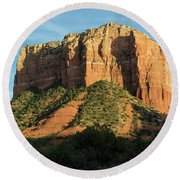 Sedona Red Rocks Round Beach Towel