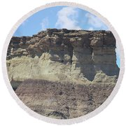 Sedona Rock Formation Round Beach Towel