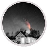 Selective Fire Round Beach Towel