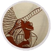 Selina - Tile Round Beach Towel