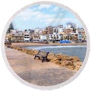 Selinunte - Sicily Round Beach Towel