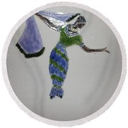 Selma - Tile Round Beach Towel