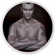 Semmy Schilt Round Beach Towel