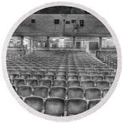 Senate Theatre Seating Detroit Mi Round Beach Towel