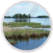 Seney Round Beach Towel
