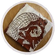 Sentinel - Tile Round Beach Towel
