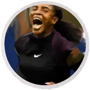 Serena Williams '16 Round Beach Towel