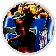 Serena Williams Thermal Catsuit Round Beach Towel