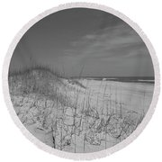 Serene Lookout Round Beach Towel by Betsy Knapp