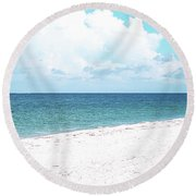 Serenity Gp Round Beach Towel