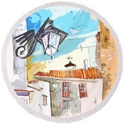 Serpa  Portugal 09 Bis Round Beach Towel