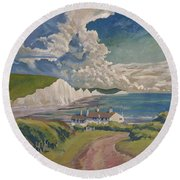Seven Sisters Round Beach Towel