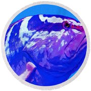 Seymour Round Beach Towel