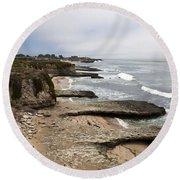 Seymour Marine Discovery Center Santa Cruz Round Beach Towel