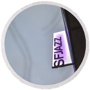 Sfjazz San Francisco Round Beach Towel