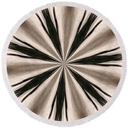Shadows And Patterns 1 Round Beach Towel