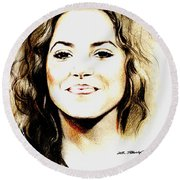 Shakira Round Beach Towel