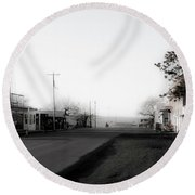 Shaniko Oregon 3 Round Beach Towel